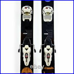186cm Volkl Gotama 2011 All Mountain Skis with Marker Griffon 12 Bindings Used