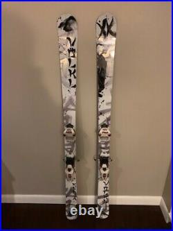2011 Volkl Kenja Womens 163 All Mountain Skis, Marker Jester Bindings & Bag