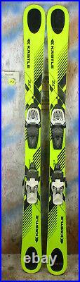 2016 Kastle XX 75 JR 130cm with Marker 7.0 Binding