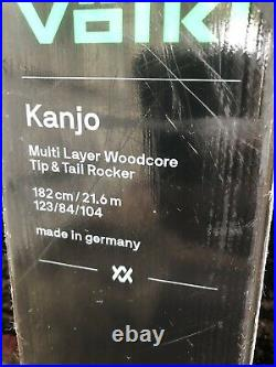 2018 Volkl Kanjo Demo Skis with Marker Jester or Griffon Demo Bindings CLEAN