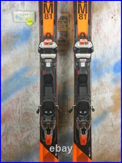2018 Volkl RTM 81 156cm with Marker Wideride XL Binding