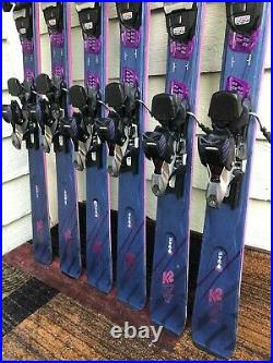 2019 K2 Endless Luv Women's System Skis with Marker ER3 11 TCX Bindings MINT
