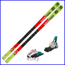 2019 Volkl Racetiger GS R WC 30 Skis with Marker Race Xcell 12 Bindings 11887