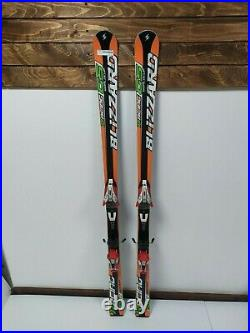 Blizzard World Cup Racing GS 156 cm Ski + Marker M10 Bindings Winter Sport Snow