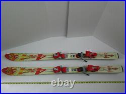Dynastar 4x4 Team Skis Youth Kids 120 cm w Marker M1.1 Bindings Snow Sports