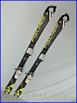 Fischer RC4 World Cup SL FIS jr kid's racing skis 130cm with Marker 7.0 bindings
