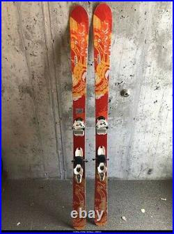 HEAD Monster iM88 164cm all mountain skis with Marker Griffon bindings