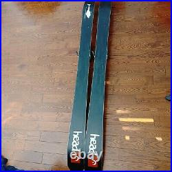 Head Cyclic 115 Powder Skis Back Country With Marker Jester Bindings Well Used
