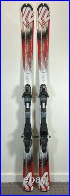 K2 AMP Strike 153CM All Mountain Skis Marker MZ 10 Adjustable Bindings FRESH