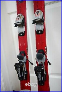 K2 Apache Jr Skis Size 126 CM With Marker Bindings