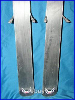 K2 Apache Outlaw All-Mountain Skis 167cm with Marker FREE 12.0 ski bindings SNO