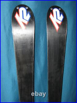K2 Apache Recon All-Mountain skis 160cm with Marker MOD 12.0 adjustable bindings