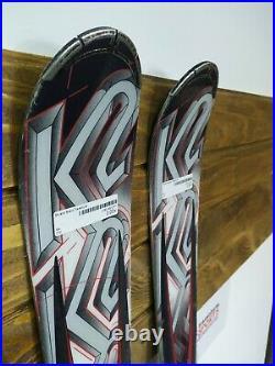 K2 Force 170 cm Ski + Marker 10 Bindings Winter Sport Snow Outdoor Fun Mountain