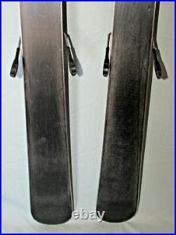 K2 INDY Kid's Skis 112cm Rocker Tip & Tail w Marker 4.5 Demo Adjustable Bindings