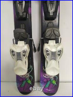 K2 Indy 76 cm Skis + Marker 4.5 Bindings Winter Sports Fun Snow Outdoor