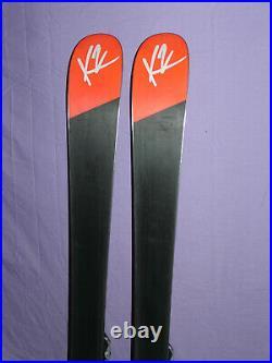 K2 Luv Machine 74 Ti 153cm Women's SpeedRocker Skis Marker/K2 Int Adj Bindings