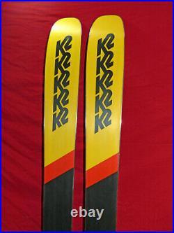 K2 Mindbender 108Ti 186cm All-Mtn Rocker SKIS with Marker Griffon Demo Bindings