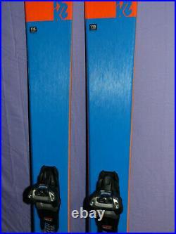 K2 Mindbender 116C 186cm All-Mtn Rocker SKIS with Marker Griffon Demo Bindings