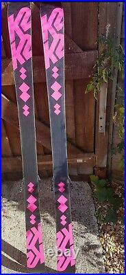 K2 Missy Twin tip skis 149cm with Marker bindings adjustable