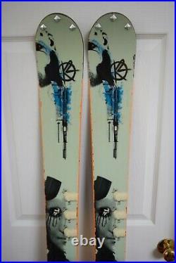 K2 Nancy Twintip Skis Size 169 CM With Marker Bindings