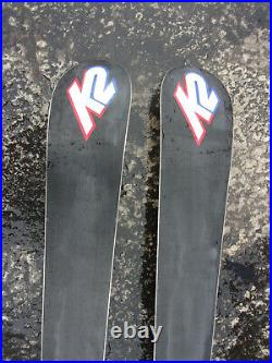 K2 Phat Luv Womens Skis Marker airpad 12 free biometric marker Bindings with polls