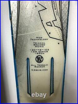 K2 RX AMP 160 cm Ski + Marker 10 Bindings Winter Sport Snow Outdoor Fun