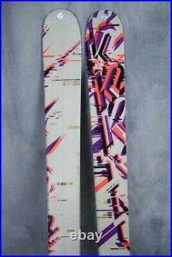 K2 Silencer Twintip All Mountain Skis 180cm With Marker Bindings