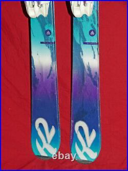 K2 Super Inspire Women's Skis 163cm All-Mtn Rocker with Marker Integrated Bindings