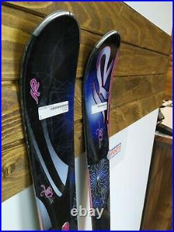 K2 Super One 160 cm Ski + Marker 10 Bindings Winter Sport Snow Outdoor Mountain