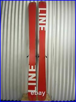 Line 2021 Sir Francis Bacon Skis w Marker Griffon Demo Bindings