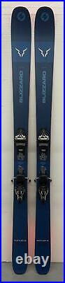 MENS BLIZZARD RUSTLER 10 USED DEMO SKIS With MARKER GRIFFON TCX BINDINGS 188CM