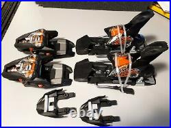 Marker Race XCELL 12 Ski Bindings 6820S1SB black orange