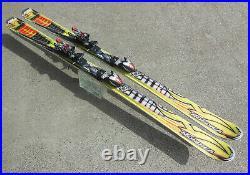 NORDICA HOT ROD HELLCAT ALL MTN SKIS, 178cm with MARKER XBi 5.14 TITANIUM BINDINGS