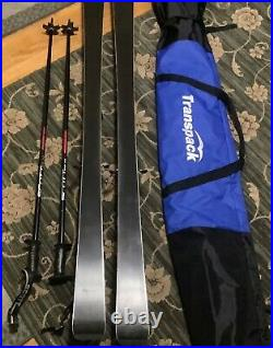 NORDICA Skis-GRANDSPORT S8 171cm, Marker bindings, Scott Polls, transport Bag NICE