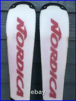 Nordica 155 cm World Cup Slalom Race Skis With Marker Bindings