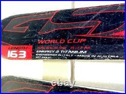 Nordica Dobermann WC GS 163 cm Ski + Marker Comp 10 Bindings Winter Fun Snow