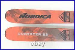 Nordica Enforcer Alpine Skis 172cm Length 121-98-109mm Marker Griffon Bindings