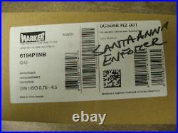 SKI BINDINGS MARKER IQ 4.5 WHITE BLACK USE WITH NORDICA SANTA ANNA ENFORCER 75mm