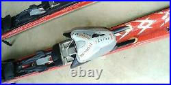 Used Volkl Supersport 5 Star Red Skis 168cm withMarker Motion AT Bindings DOWNHILL