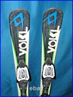 VOLKL RTM Jr Kid's SKIS 90cm with Marker 4.5 Kids Youth adjustable ski bindings