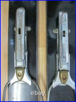 Vintage Head Standard Alpine Skis with Marker K Automatic Bindings 182cm ski decor