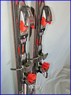 Volkl 724 PRO all mountain skis 177cm with Marker Titanium 1200 adjust. Bindings