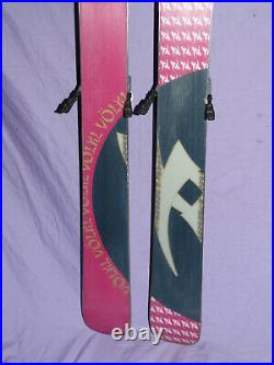 Volkl AURA 156cm All-Mtn Women's Skis with Marker Free 11 airpad Bindings Camber