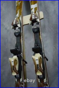 Volkl Attiva Luna Womens Skis 142 CM With Marker Bindings
