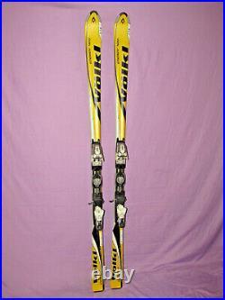 Volkl Energy 420 skis 184cm with Marker Motion 1200 adjustable ski bindings NICE