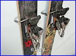 Volkl Gotama freeride skis 168cm with Marker 12.0 Titanium Piston ski bindings