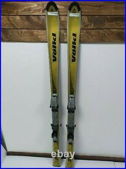 Volkl RT1 160 cm Ski + Marker 9.5 Bindings Winter Snow Fun Outdoor
